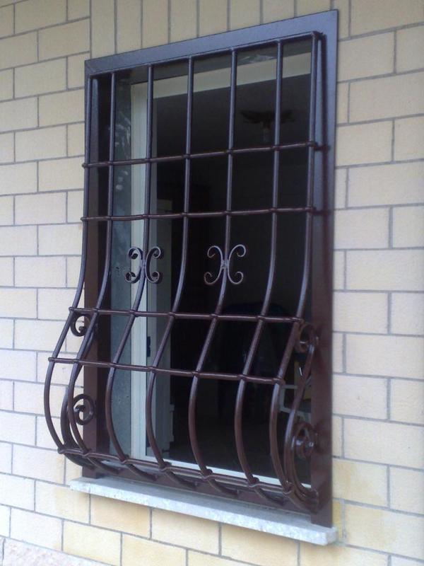 Grate in acciaio - Grate finestre in ferro ...